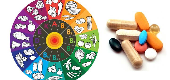 fedtopløselige vitaminer og vandopløselige vitaminer